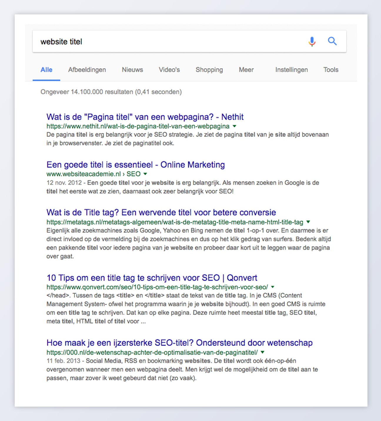 Wat is Google Rankbrain?